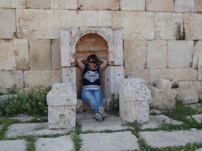 Me, Desecrating a Shrine in Juresh, Jordan